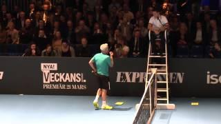 John McEnroe vs Mats Wilander: Great Tennis Entertainment-You cannot be serious 2013!