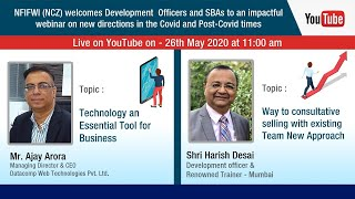 Harish Desai and Ajay Arora - NFIFWI (NCZ) Event