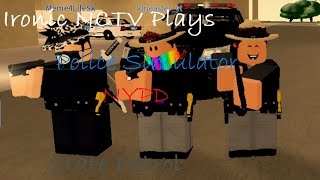 Roblox | Police Simulator NYPD | State Patrol Team | Episode 1