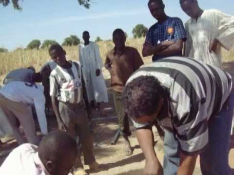 Blue Energy Solar submersible pump project in Talieha, Sudan