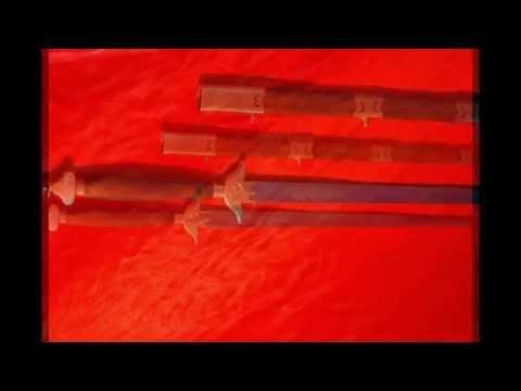 Меч цзянь. Кузня Историор. Многослойная сталь, ковка, закалка.