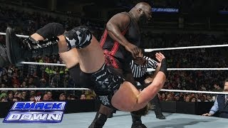 Mark Henry & Big E vs. The Real Americans: SmackDown, Feb. 28, 2014