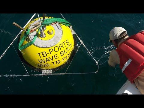 Buoy 42098 Deployment Nearshore Egmont Key