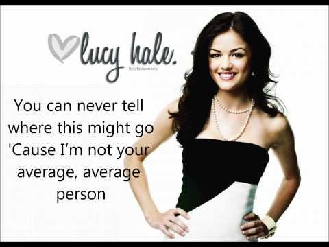 Lucy Hale  Extra Ordinary s