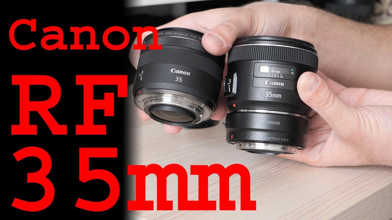 Canon EF-S35 Lens Cap adapta Lente Ef-s 35MM