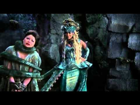 """Once Upon A Time 4x11 """"Heroes and Villains"""" Maleficent, Ursula and Cruella with Rumple and Belle"""