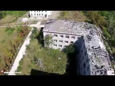 Славянск, руины психдиспансера, 19 августа 2015 г.