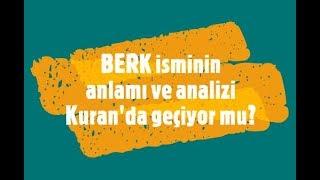 BERK İsminin Anlamı ve Analizi Nedir?.mp3