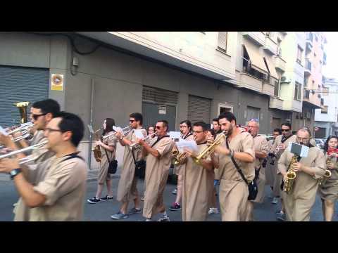 Unió Musical Valladina de Vallada  Novelda 2015