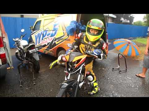 Dheyo Wahyu Beralih Ke Road Race ????