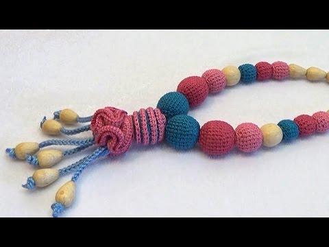 how to make crochet beads