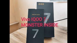 Vivo IQOO 7 на Snapdragon 888 - распаковка и первые впечатления