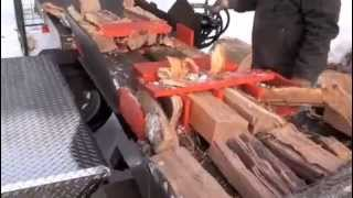 Repeat youtube video Dad's Wood Splitter: The first Tempest Trailered Unit built