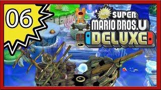 New Super Mario Bros. U Deluxe - Part 6 (4-Player)