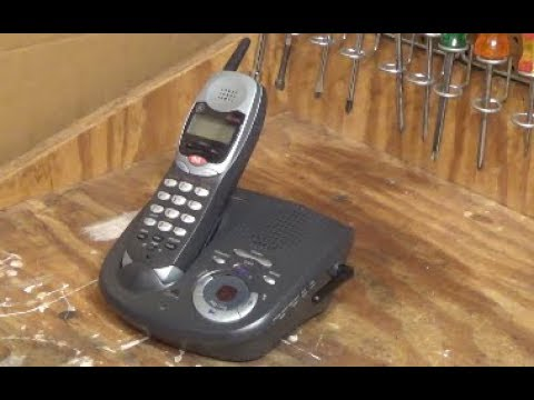General Electric 2.4 GHz Cordless Phone | Initial Checkout