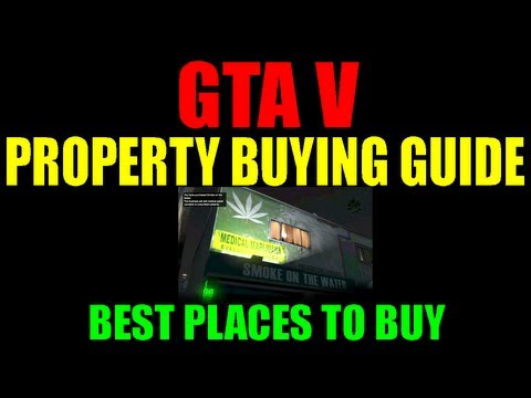 Grand Theft Auto V Property Guide | Best Properties To Invest In | All Characters | Details | GTA 5