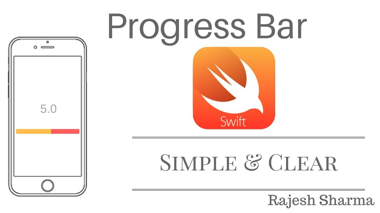 ProgressBar in iOS - XCode9 Swift 4
