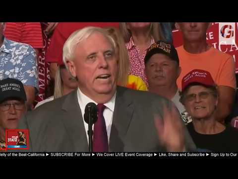 BREAKING NEWS: West Virginia  Governor Jim Justice make a Shocking announcement at Trump Rally!