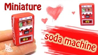 [Diy miniature soda machine] 미…