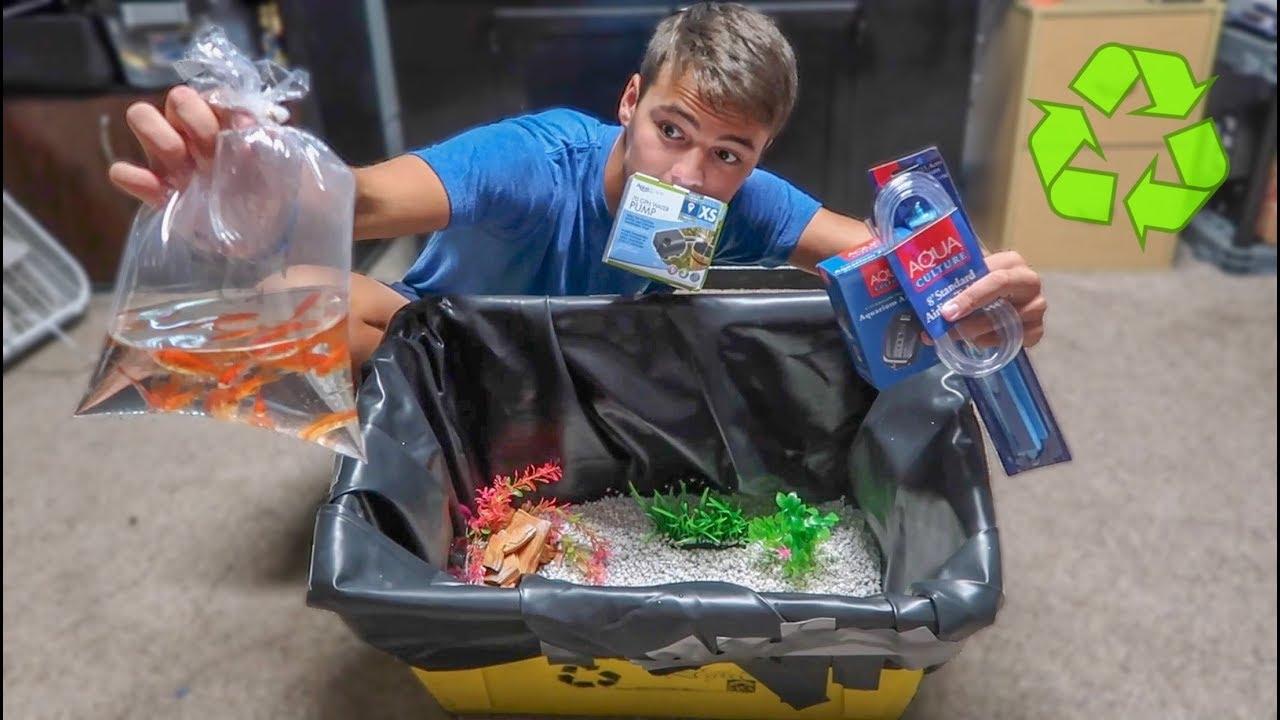 mini-recycle-bin-goldfish-tank