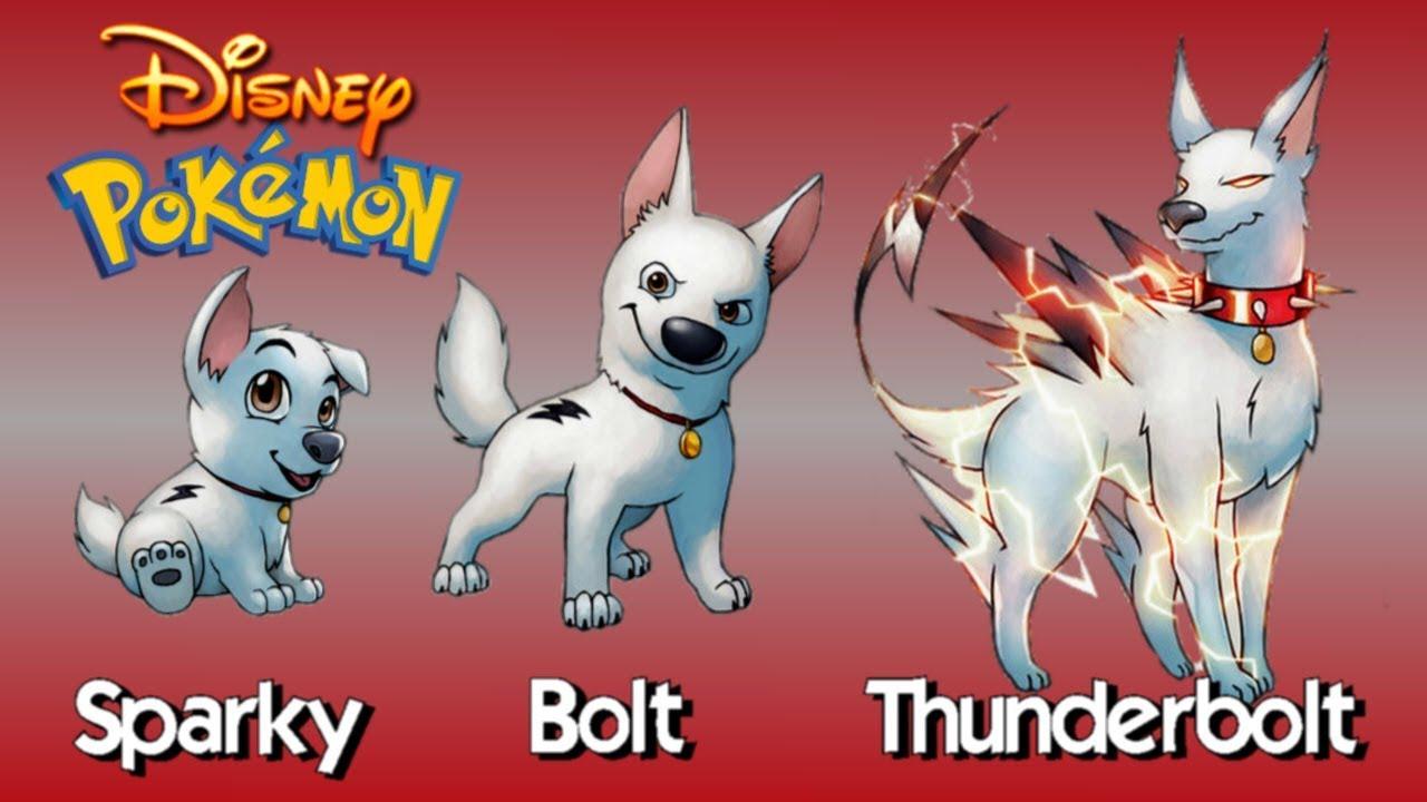 Disney Characters As Evolving Pokemon Youtube
