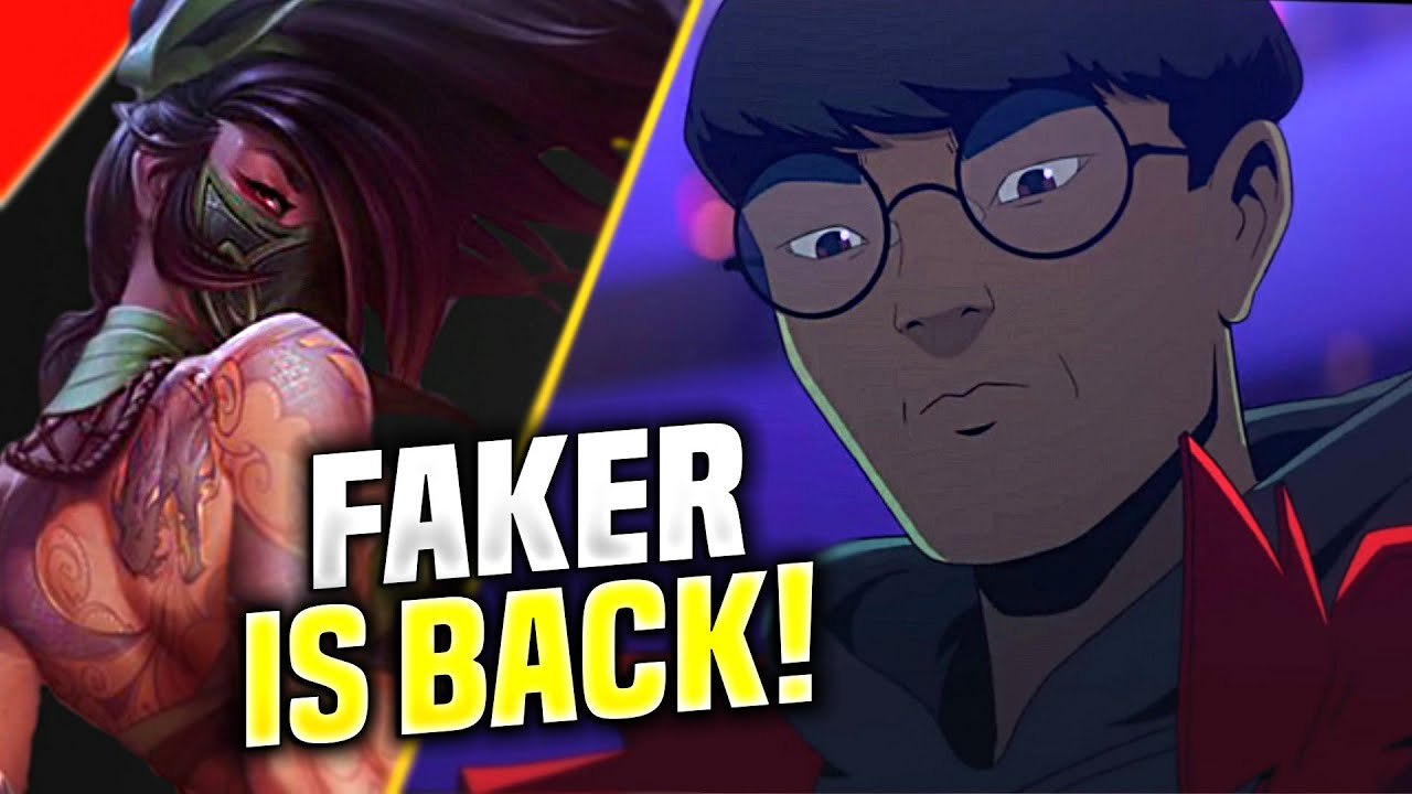 FAKER THE DEMON KING IS BACK TO SOLOQ! - T1 Faker Plays Akali vs Gangplank Mid! | KR Patch 10.19