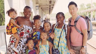 ACROSS THE USA BY TRAIN IN 74 HOURS WITH 6 KIDS