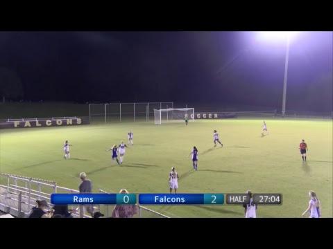 Montevallo Women's Soccer vs. Albany State