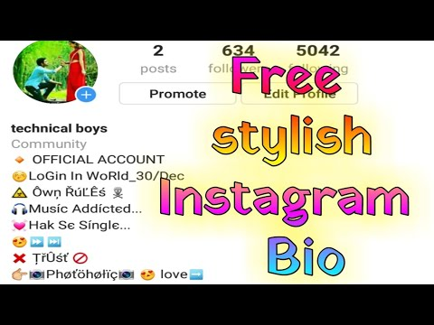 how to set stylish Instagram bios, Instagram bio style me kaise likhe