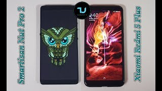 Snapdragon 660 vs 625 Speed test/Performance/Smartisan Nut Pro 2 vs Xiaomi Redmi 5 Plus