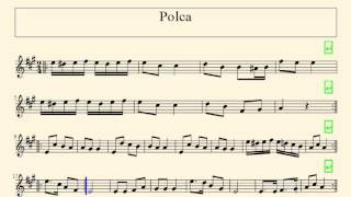 [RO] Partitura - Polca