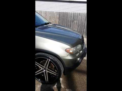 BMW X5 on 24's...