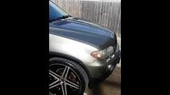 BMW X5 on 24's.