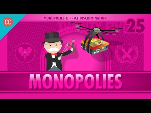Monopolies and Anti-Competitive Markets: Crash Course Econom