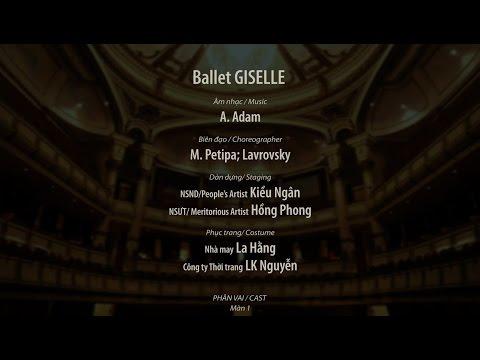 Ballet GISELLE /  Hanoi Opera House /  2016