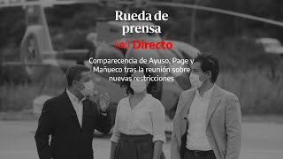 🔴 DIRECTO | Madrid, Castilla-La Mancha y Castilla y León se reúnen para decidir cierres perimetrales