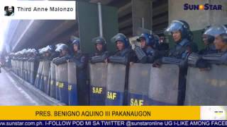 Pres. Benigno Aquino III pakanaugon