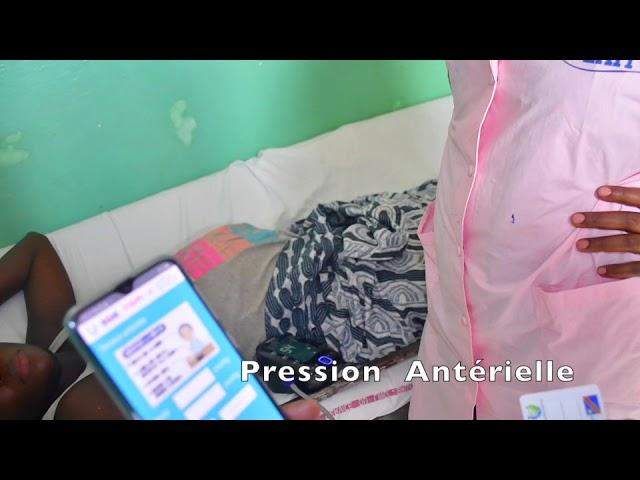 une preuve de concept à l'aide d'un prototype de solution numérique d'examen prénatal.