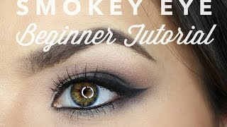 smokey eye for beginners   makeup tutorial feat naked 3 palette