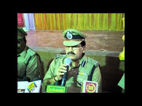 Madurai Police Commissioner