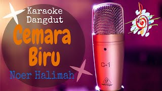 Download Karaoke Cemara Biru - Noer Halimah (Karaoke Dangdut Lirik Tanpa Vocal)