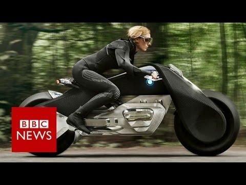 bmw reveals helmet-free motorcycle concept - bbc news - youtube