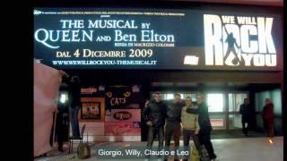 Baixar We will rock you italian premiere Best moments by Leonardo Pelz Stone Cold Leo'82 B.R., 04/12/2009
