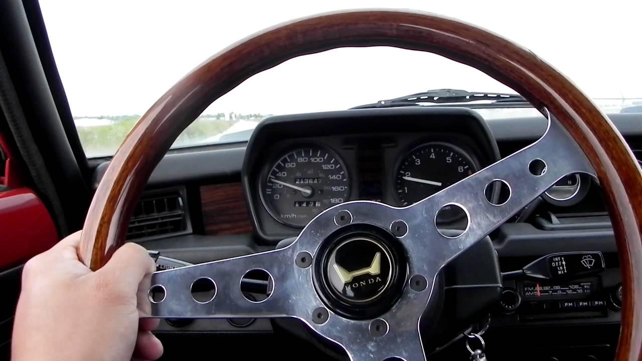 1978 (1st Gen) Honda Civic Acceleration Test 0-100km/hr ...