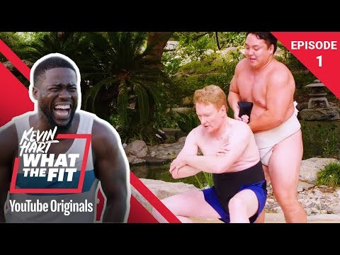 Sumo Wrestling with Conan O'Brien | Kevin Hart: What The Fit Episode 1 | Laugh Out Loud Network