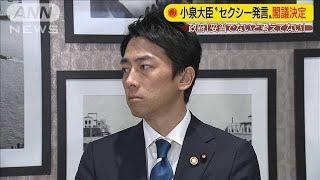 小泉大臣「セクシー」発言 政府が答弁書を閣議決定(19/10/15)
