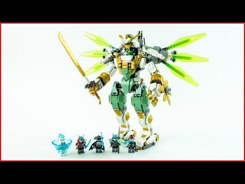 LEGO NINJAGO 70676 Lloyd's Titan Mech Construction Toy - UNBOXING