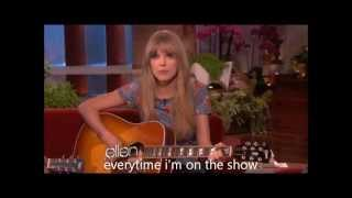 Taylor Swift and Zac Efron sing a duet, with Lyrics