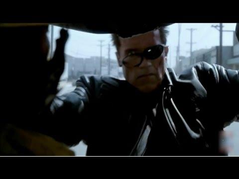 Terminator 3 - Crane Chase Scene