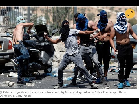 """BREAKING:Jerusalem Riots 1 Dead Tear Gas Stun Grenades"""" Prophecy Alert"""
